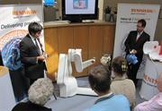 Demonstration of neuromate surgical robot
