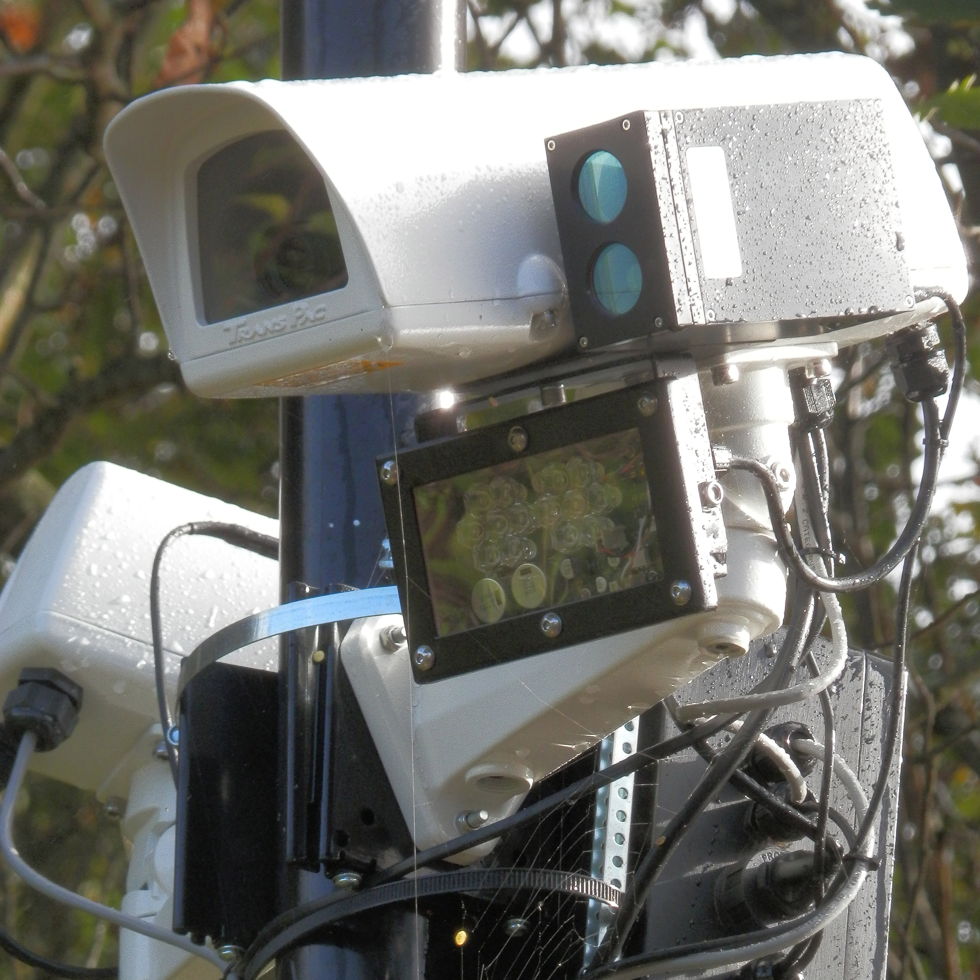 Laser modules used with ANPR cameras