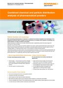Application note:  Combined chemical and particle distribution analysis of pharmaceutical powders